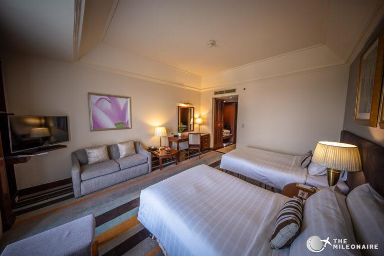 chatrium hotel rangun room
