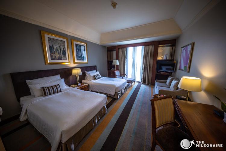 chatrium hotel yangon room