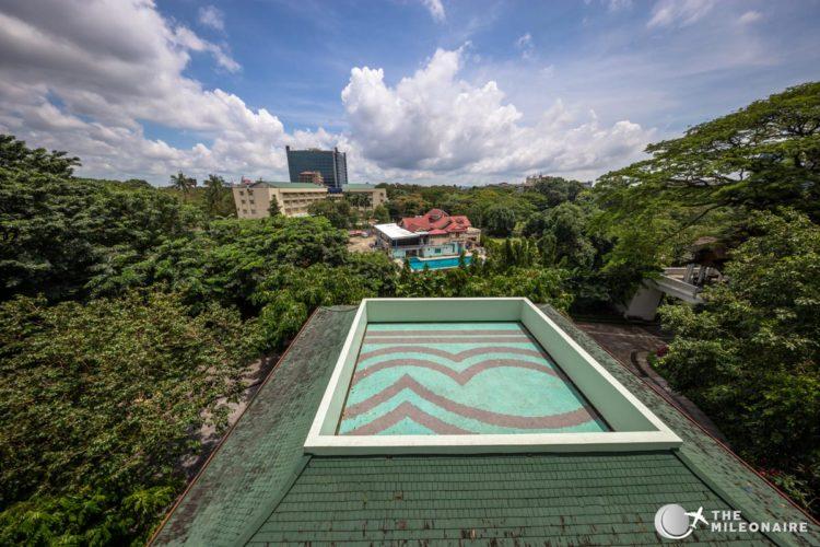 chatrium yangon room view