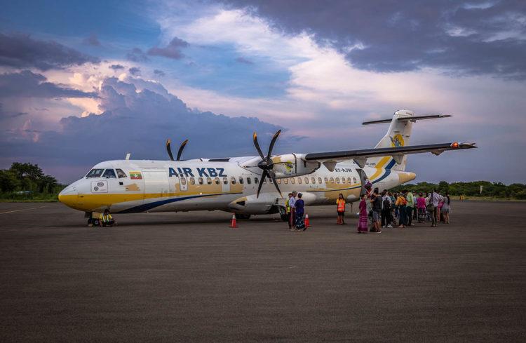 fliegen in myanmar