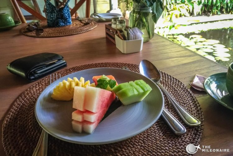 plataran canggu breakfast