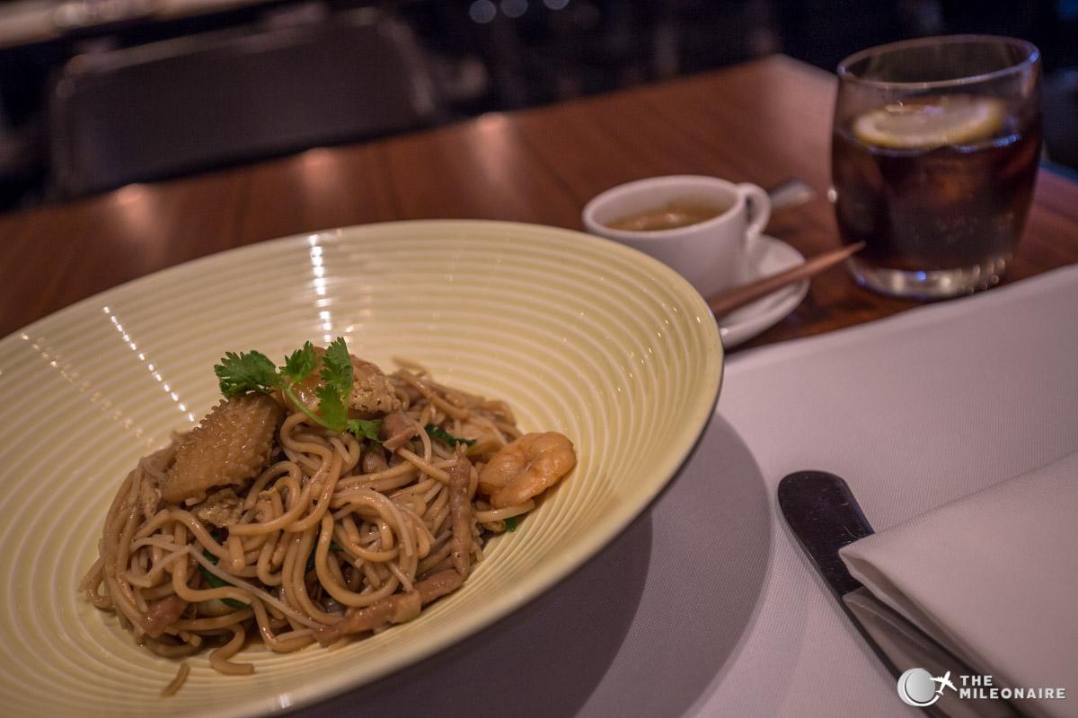 a la carte service noodles