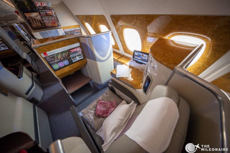 a380 business ek seat