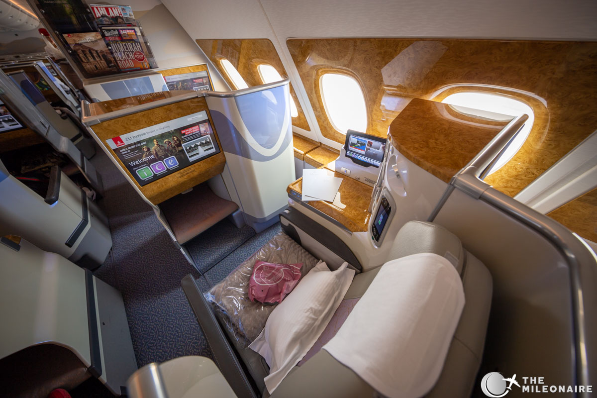 Emirates Business Class A380 Review Amp Photo Report The