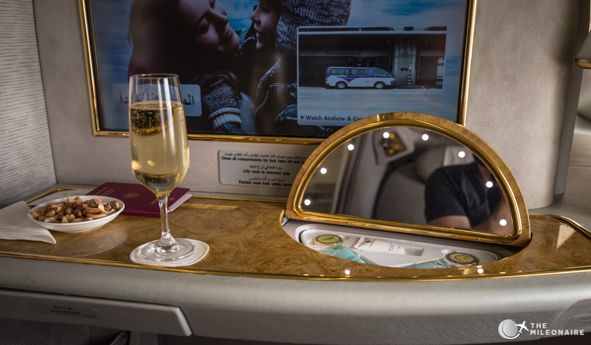 a380 mirror table