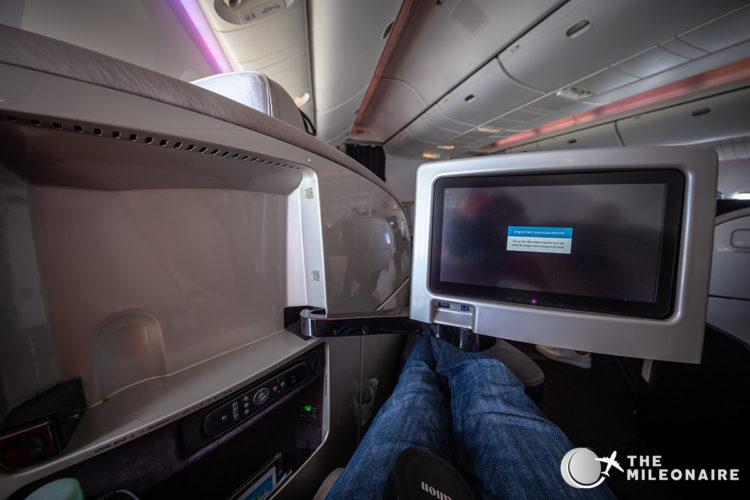 air new zealand business screen