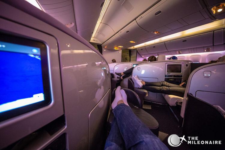 air new zealand leg space