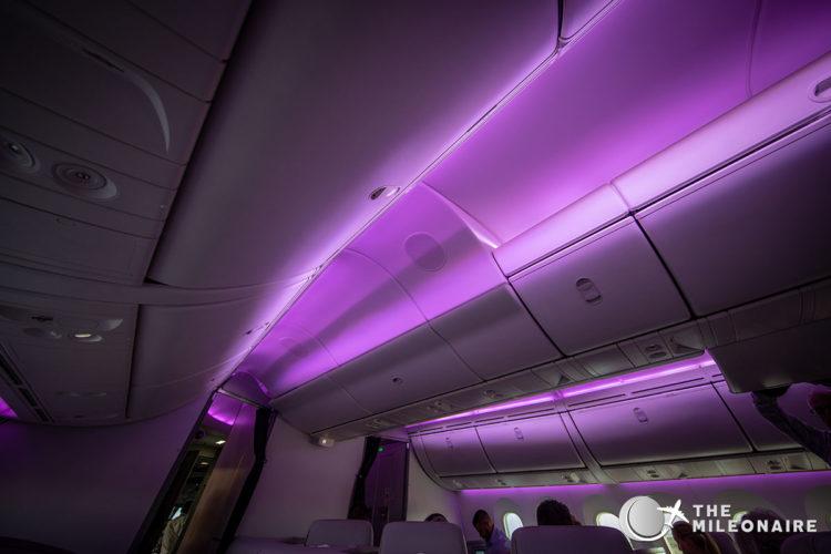 air new zealand mood lighting