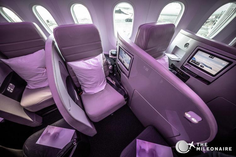 air nz 787 business seat