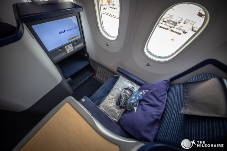 all nippon airways business seat