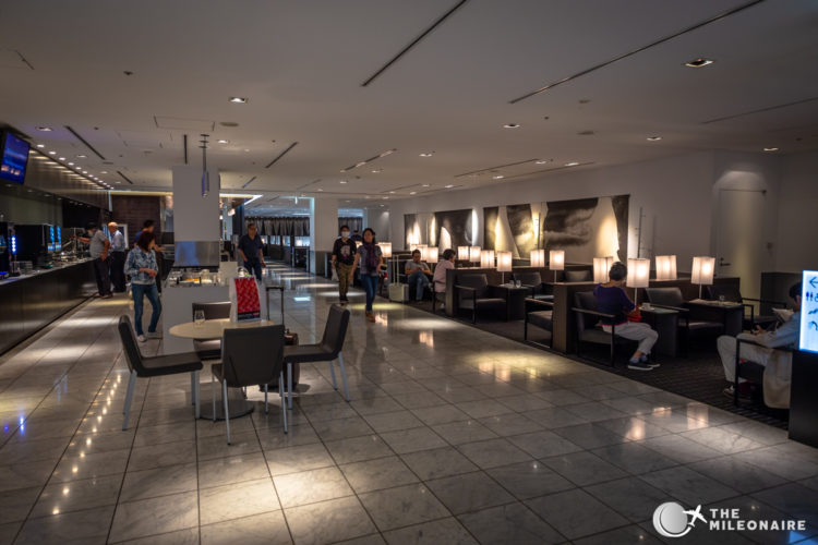 all nippon airways lounge nrt