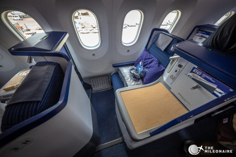ana business class seat
