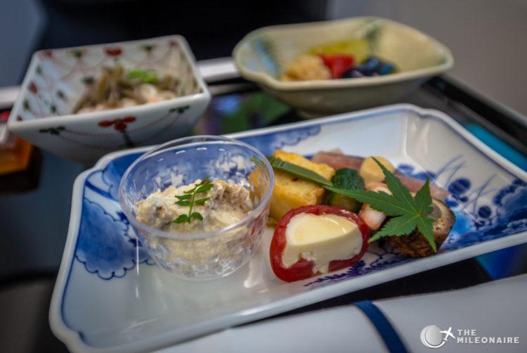 ana business food