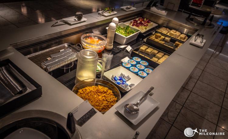 ana lounge tokyo buffet