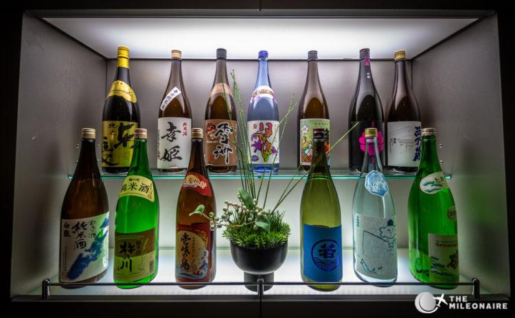 ana lounge tokyo sake bar