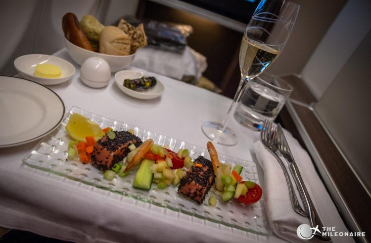 appetizer business class oman