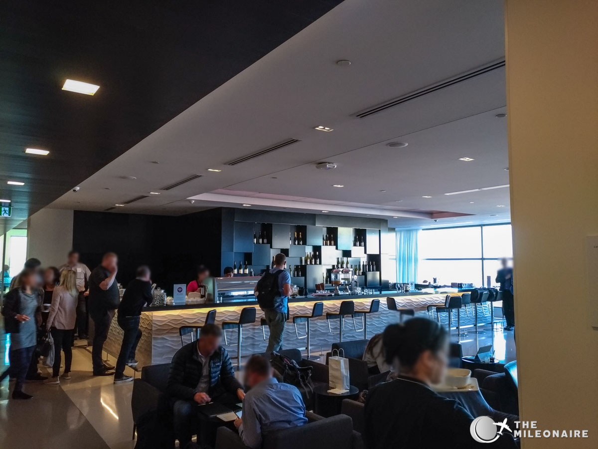 Air new zealand lounge auckland: review & foto bericht the mileonaire
