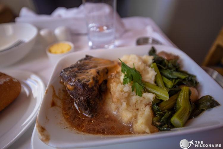 beef plane food