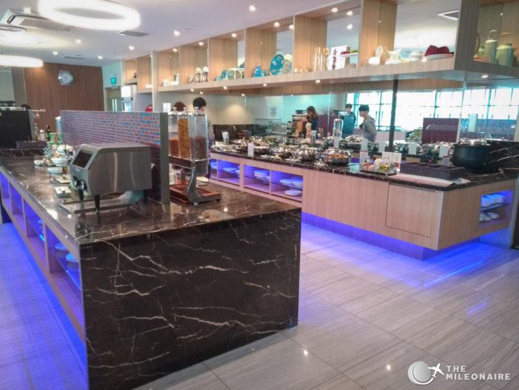 buffet sats premier lounge singapore