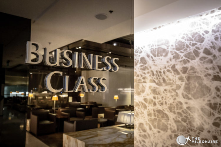 business class lounge singapore airlines