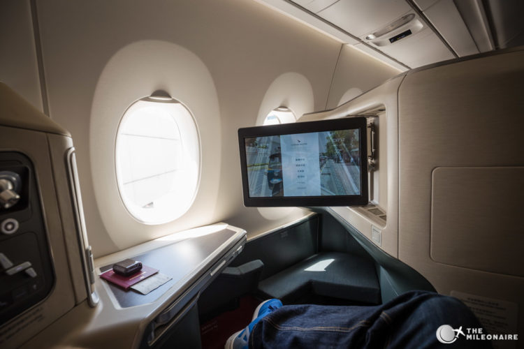 cathay a350 business sitz