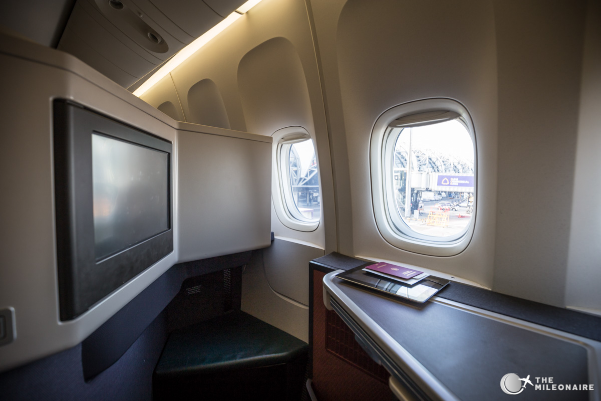 cathay-pacific 777 business class platz