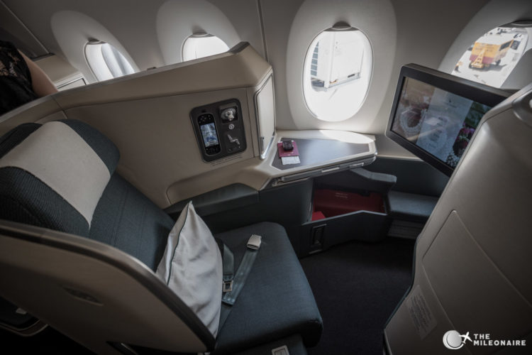 cathay pacific a350 business class sitz
