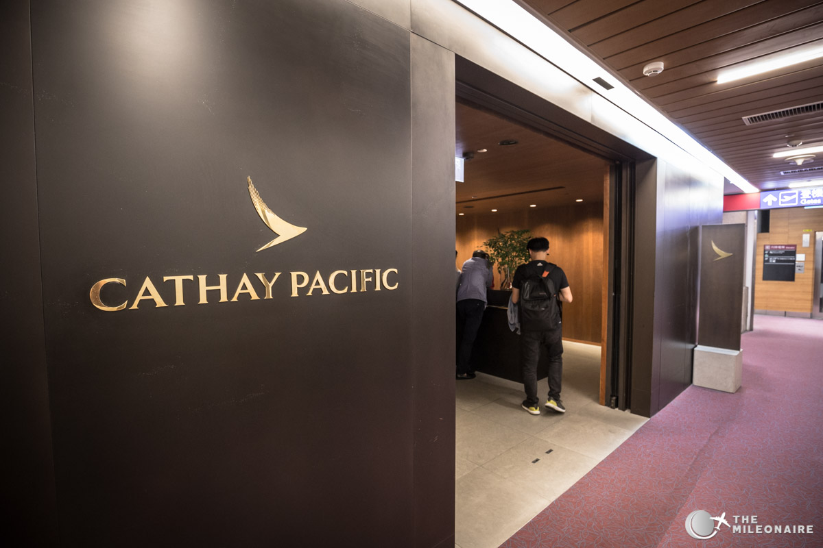 cathay pacific lounge taipeh eingang