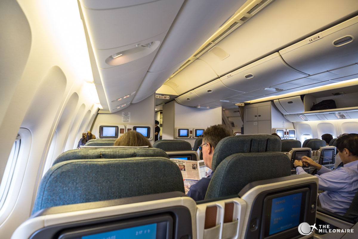 cathay pacific regionale business 777