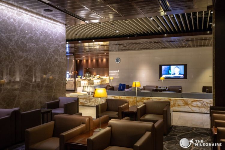 changi singapore airlines lounge