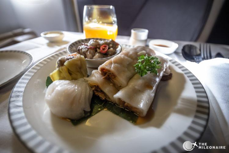 chinese breakfast plane