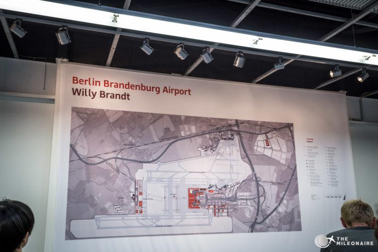eingang ber airport tour