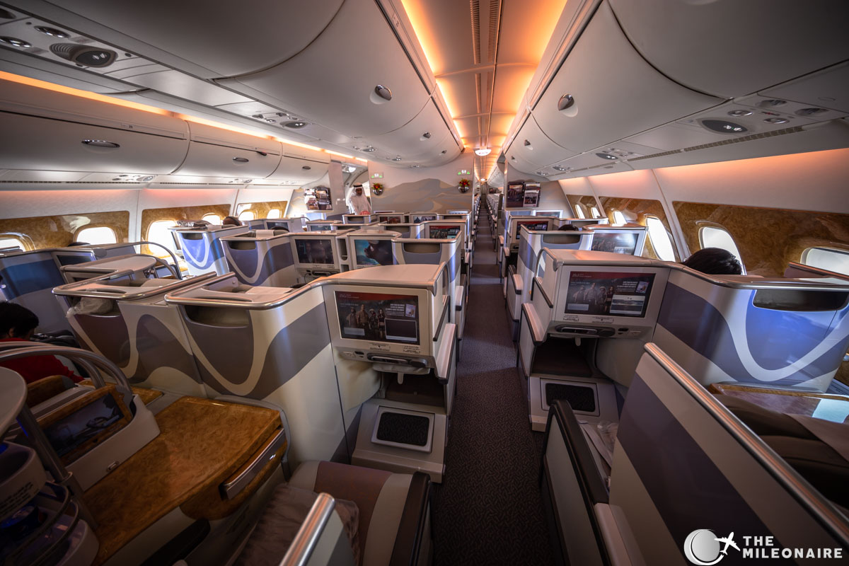 Emirates Business Class A380 Review Photo Report The Mileonaire