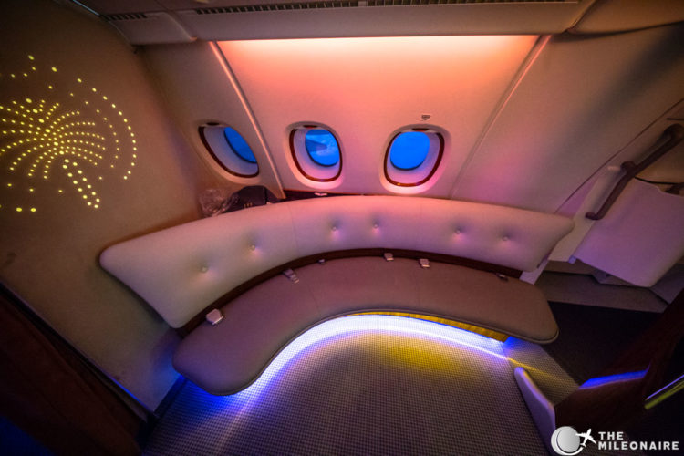 emirates a380 couch