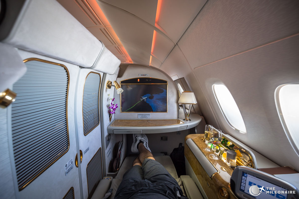 Emirates A380 First Class Suites Trip Report Review The Mileonaire