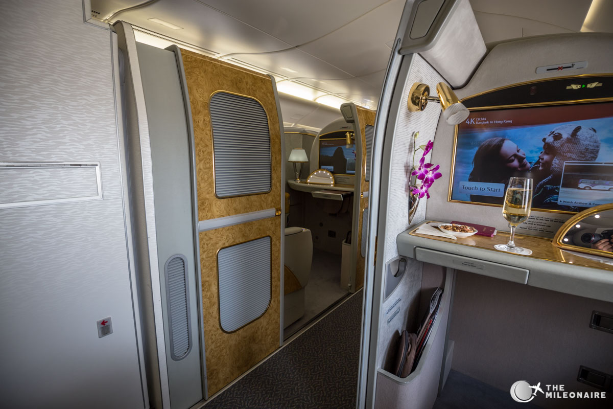 emirates a380 first suite