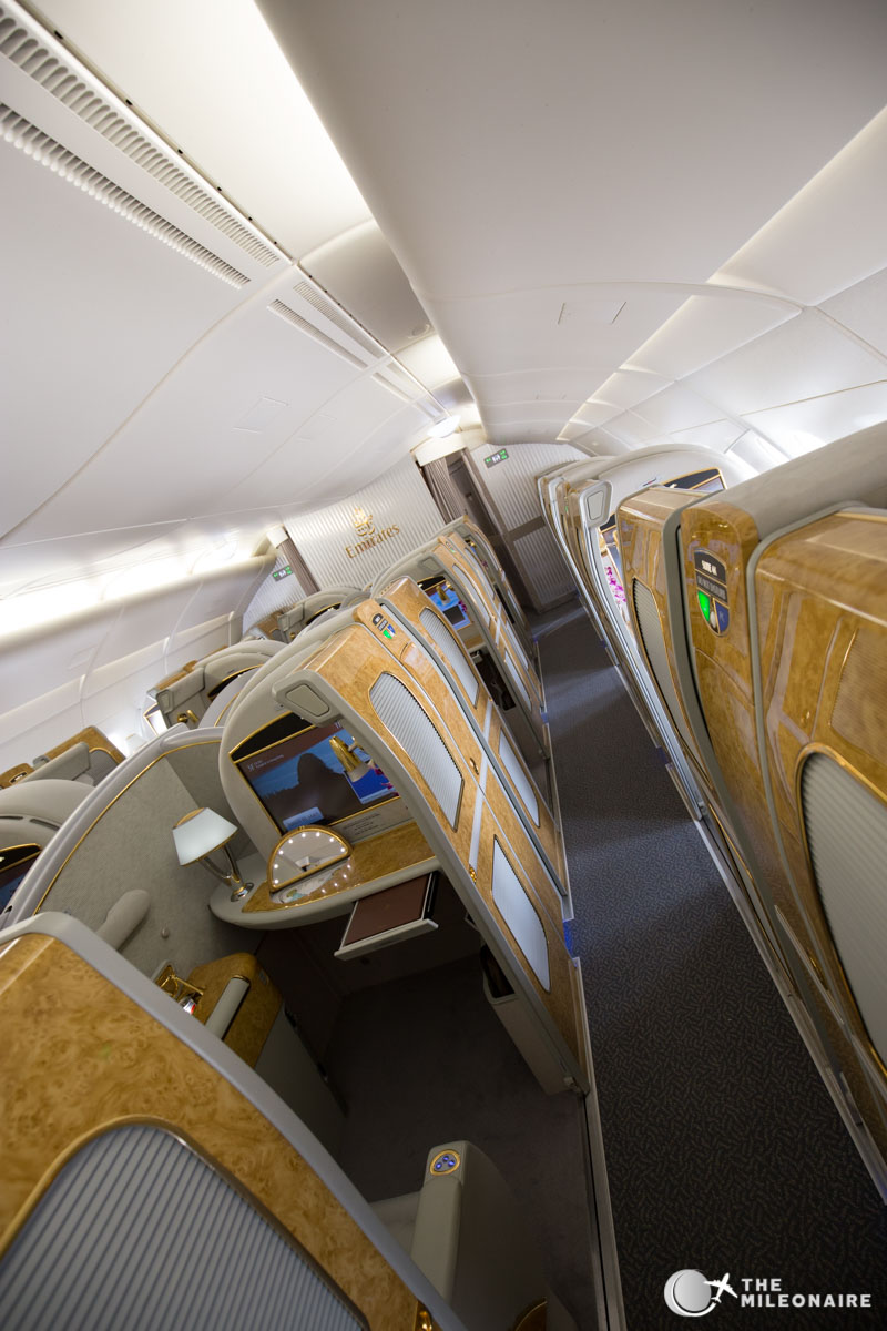 emirates a380 upper deck