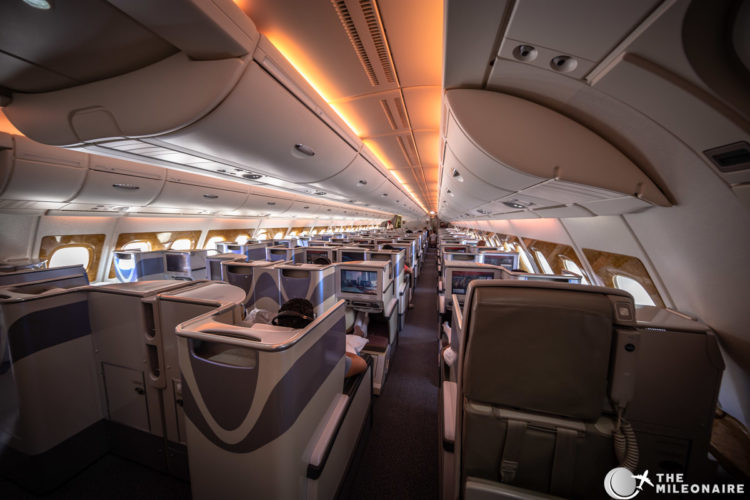 emirates business cabin