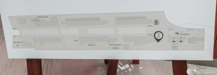 emirates business lounge map