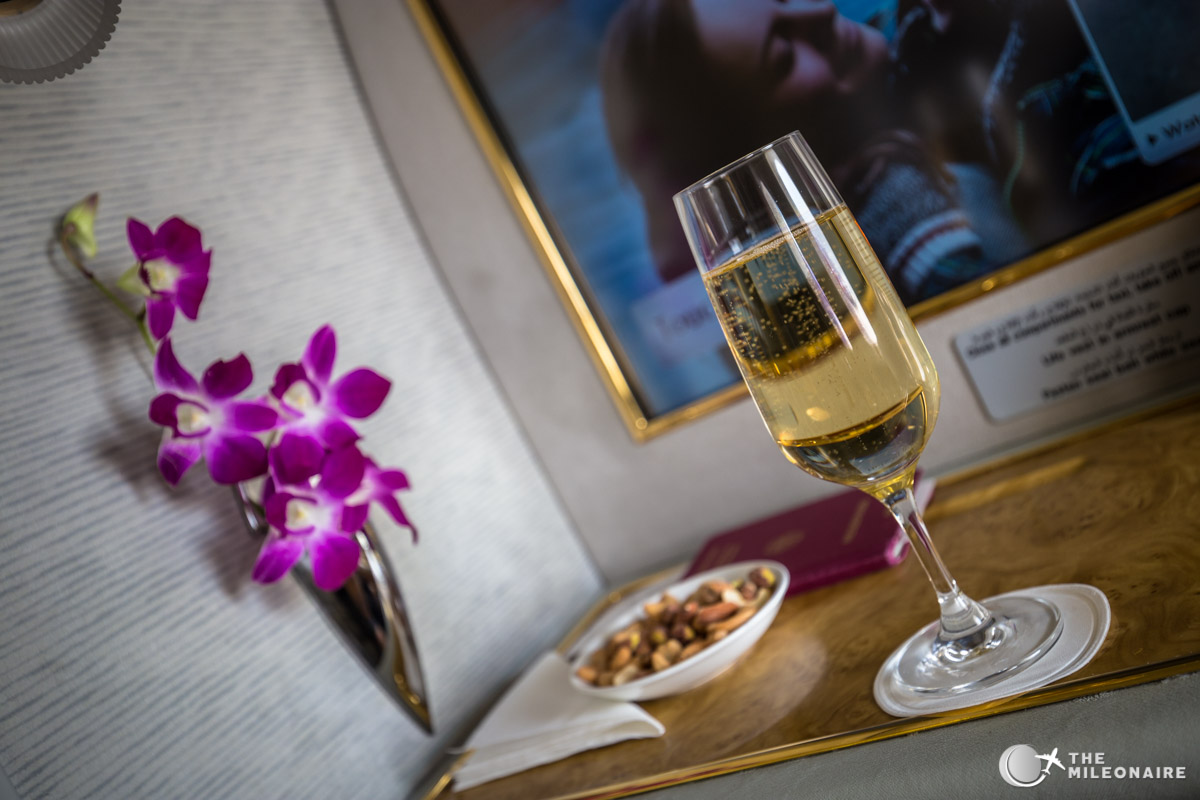 emirates champagne