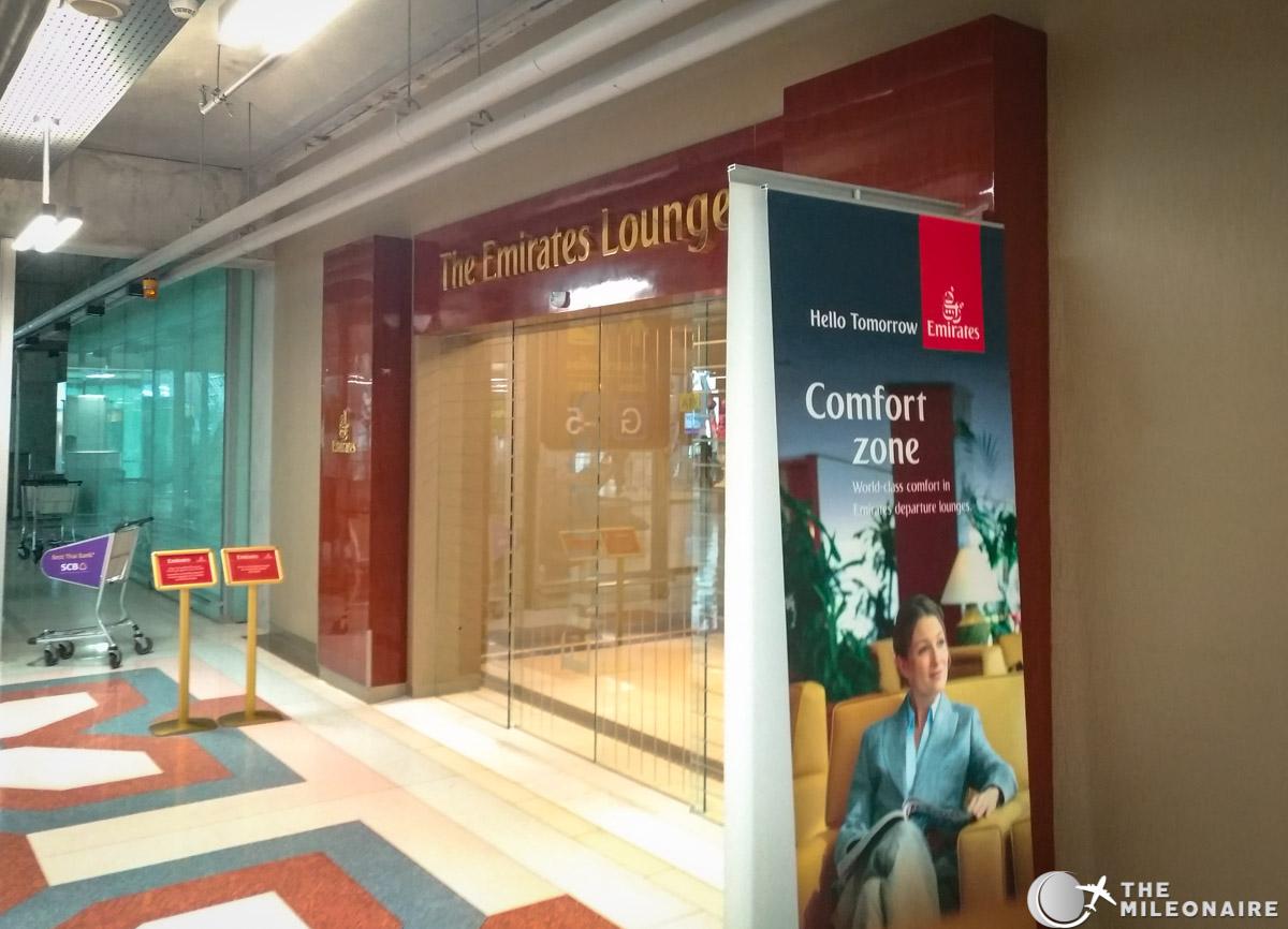 emirates lounge bangkok entrance