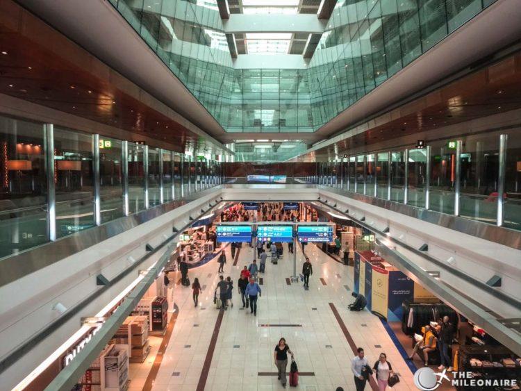 emirates lounge dubai view