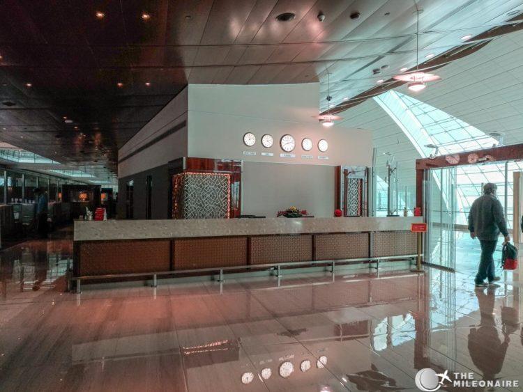 emirates lounge watches