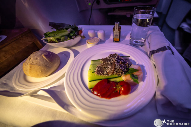 emirates tuna appetizer