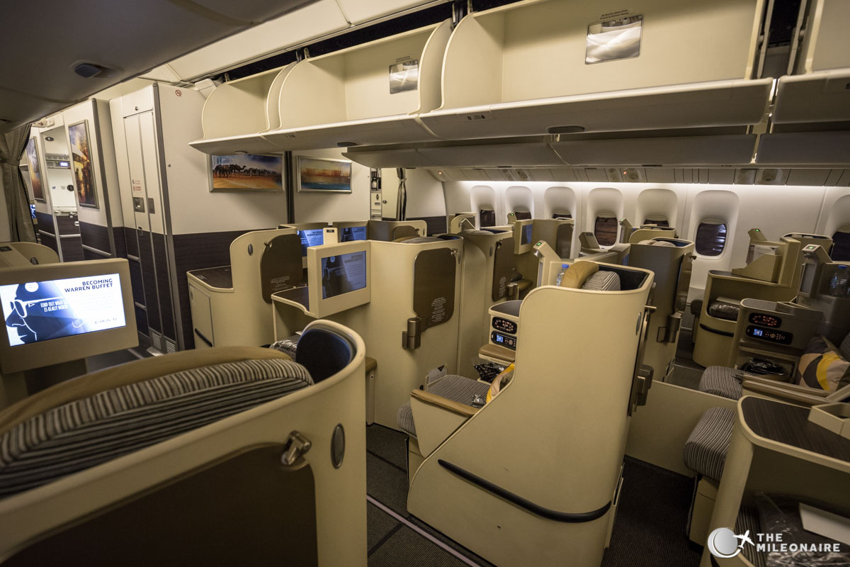 etihad boeing 777 business class trip report amp review