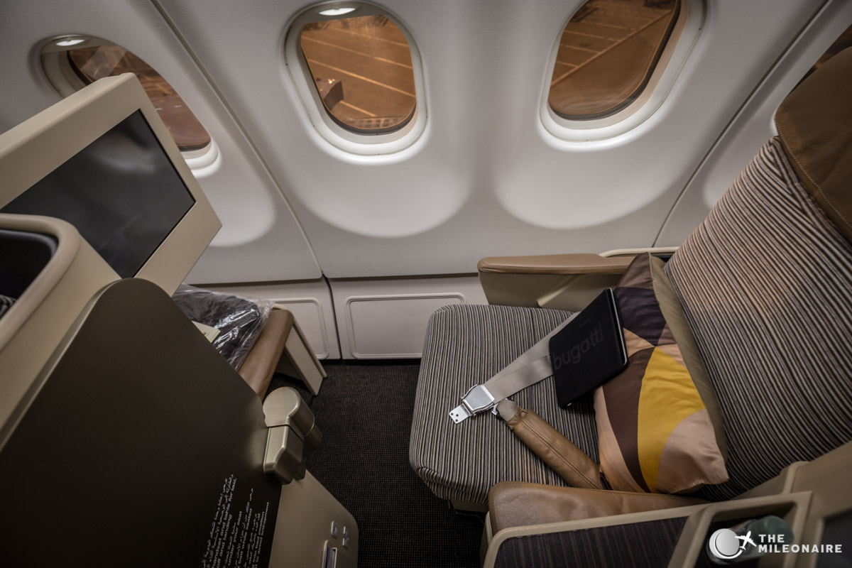 etihad a330 business class seat