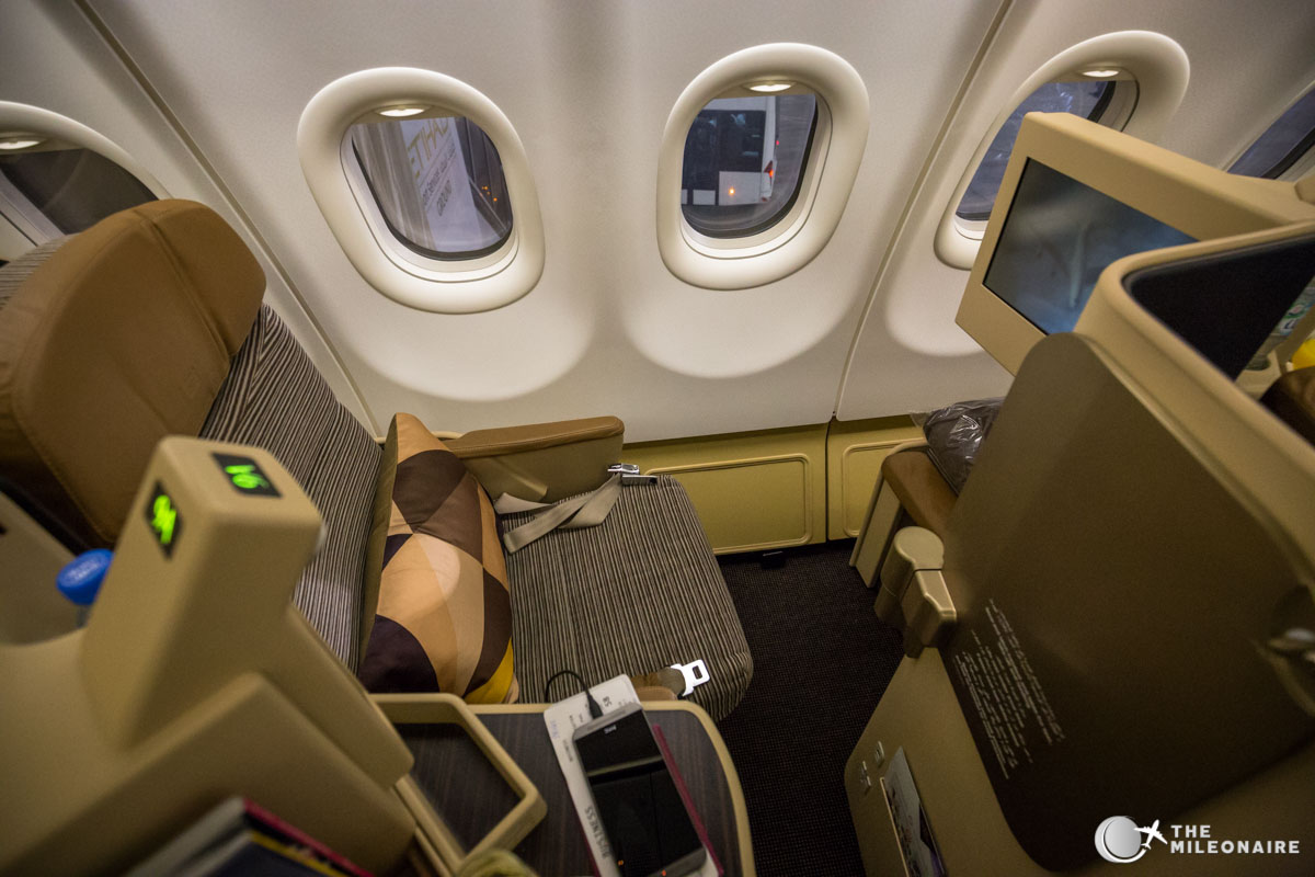etihad a330 business seat