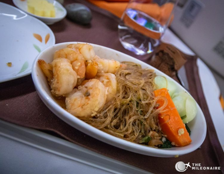 eva air dinner