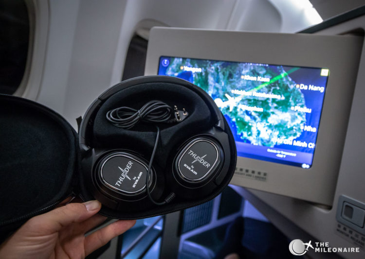 eva air headphones