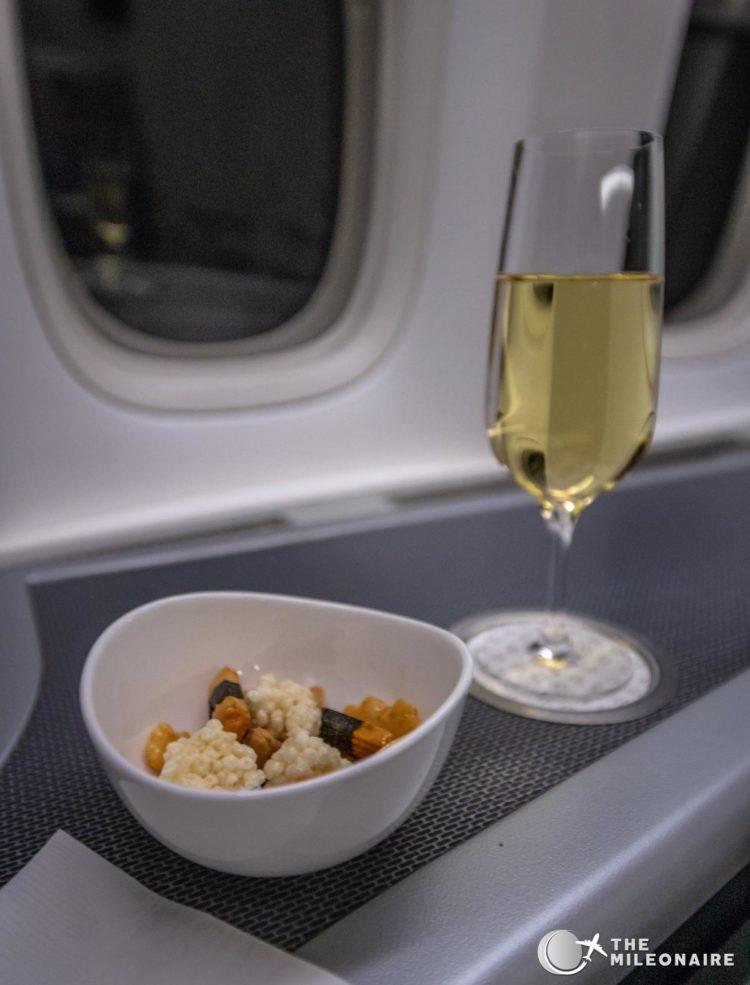 eva air nuts champagne